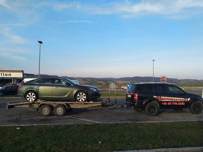 0-24 Autómentés és Autószállítás Németországból